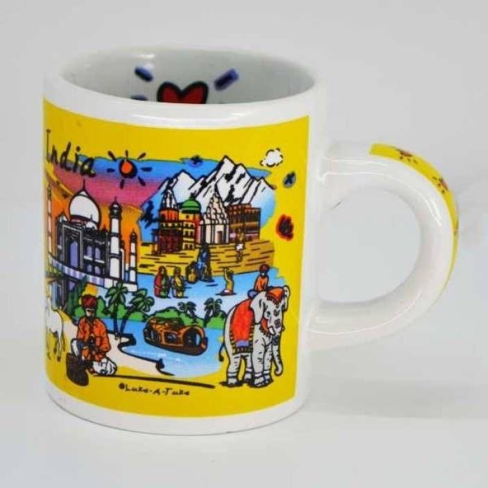 Deal On India Souvenirs 4 Oz Subway Mug at Just Rs. 79