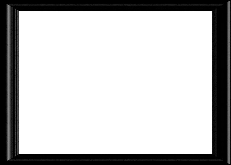 Frame Png Picture Frame Png Frames Black Pinterest