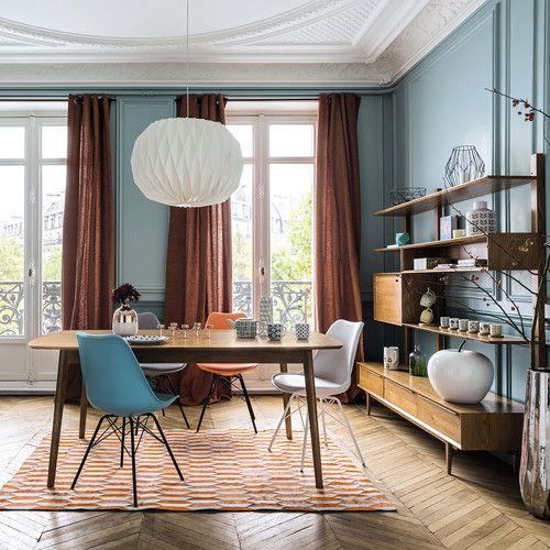Tavolo vintage per sala da pranzo in massello di quercia L 180 cm Portobello | Maisons du Monde