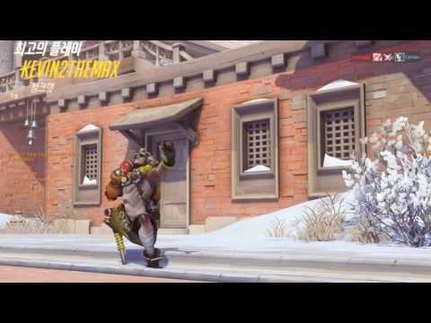 VJ Troll's game video: Overwatch POTG Montage #21. 오버워치 하이라이트 모음#21