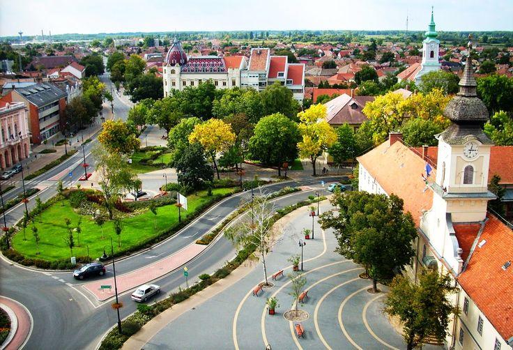 Hungary+Nagykőrös főtér