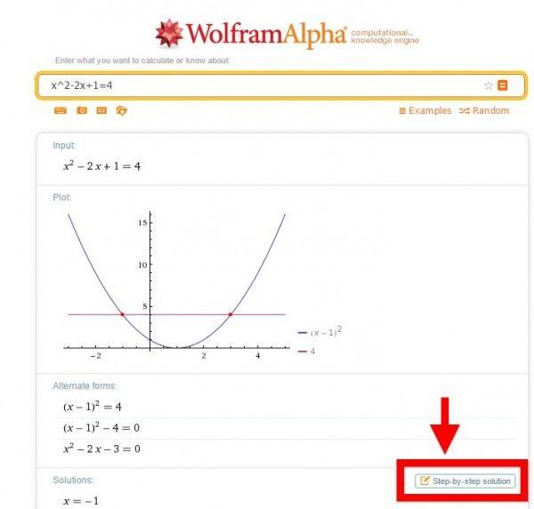 5 sitios para resolver problemas matemáticos paso a paso