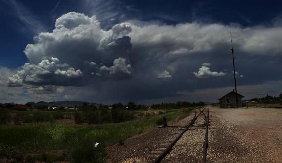 Alpine, TX: Railroad Tracks by Quigg Photography