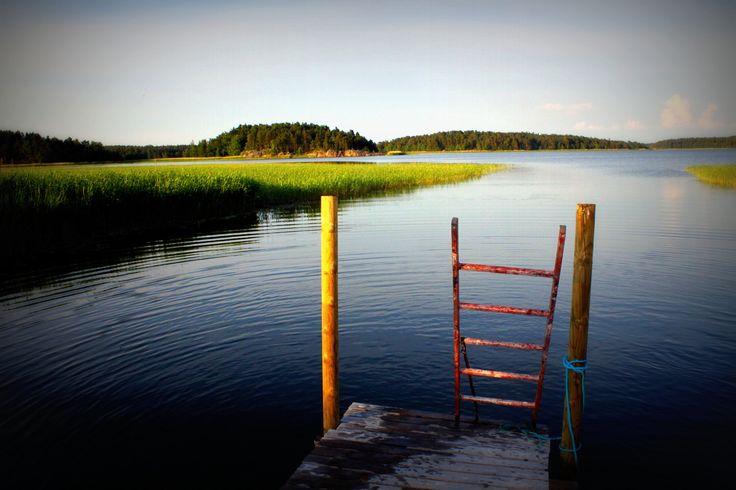 Pier at Taivassalo, Finland