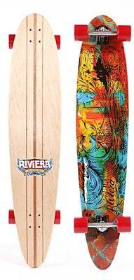 Riviera Longboards Great Wave 46'' Complete Longboard