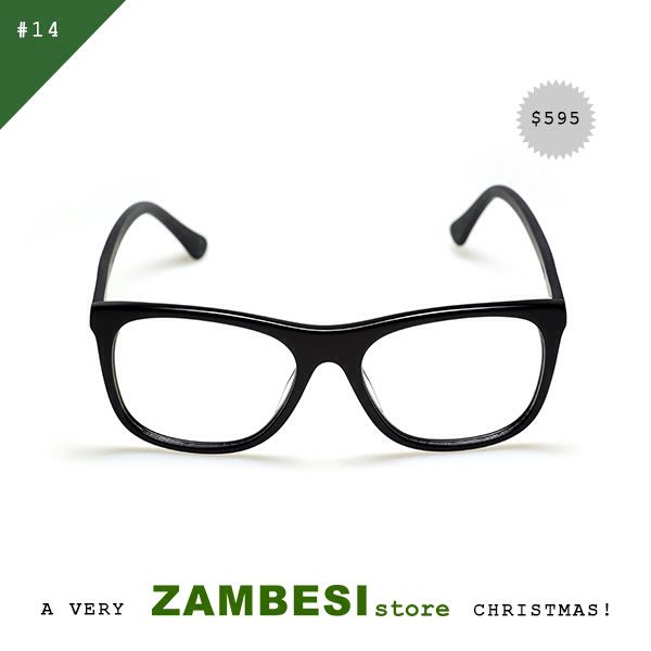 "#14 selected by Rachael Churchward!  ""Zambesi Opticals – Why, because I am upgrading my glasses for reading and I love the opticals as they are so stylish and chic. Both a statement and subtle at the same time. Must have.""  Zambesi Opticals are available in all ZAMBESI stores and online!  MERRY CHRISTMAS TO YOU ALL, PEACE + LOVE FROM ZAMBESIstore x"