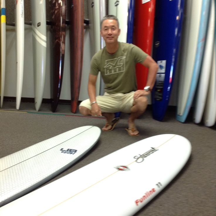 """Stewart Funline 11 for small days 7'0"""" Libtech Pickup Stick when the waves are over head. Enjoy in Hawaii and in Japan!   *Don't forget to put your order in for new Stewart boards (before the prices increase) by 4pm on July 16th!  . . . . . . #Hawaii #surfshop #newboard #redline #longboard #surf #surfboard #billstewart #libtech #Lostsurfboards #shortboard #mattbiolos   #ロスト #リブテック #ショートボード #ハワイ #ジュリアンウィルソン #サーフショップ⠀"""