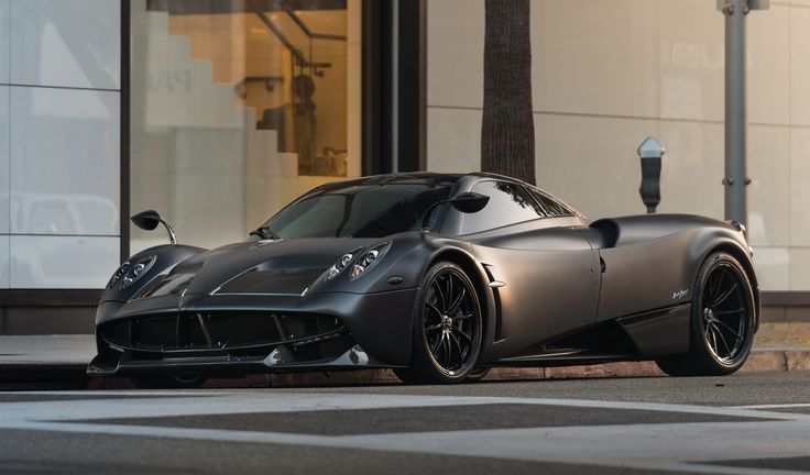 After 14 long years of waiting, this 2014 Pagani Huayra Tempesta was the first customer Pagani delivered to North America. Finished in Grigio Scuro Opaco,