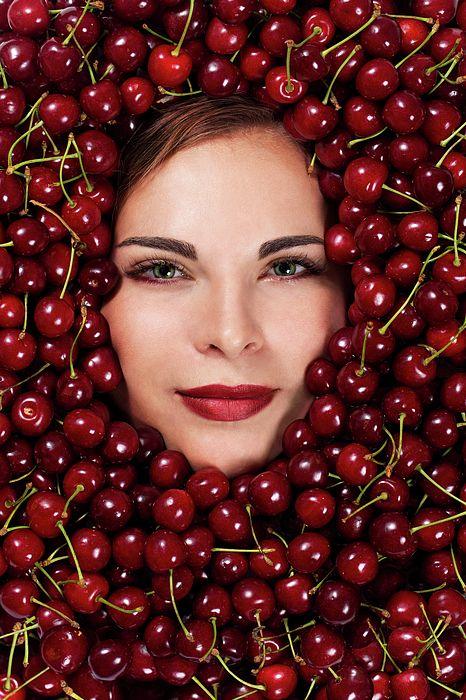 Cherry Mood by Iuliia Malivanchuk #IuliiaMalivanchuk #IuliiaMalivanchukFineArtPhotography #ArtForHome #FineArtPrints #HomeDecor #ArtWorks #InteriorDesign #Cherry #Woman