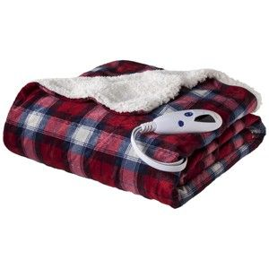 Heated Throw Blanket Luxuriously Soft Micromink For Winter Cold Days Christmas