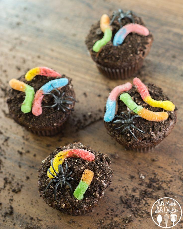 dirt cupcakes - Cute Halloween Cupcake Decorating Ideas