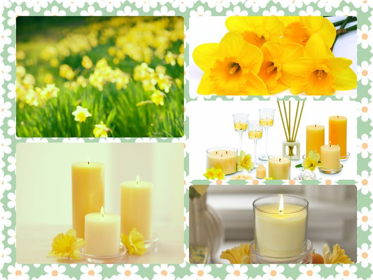 Zapach kwietnia - Narcyz <3 #partylite #daffodil