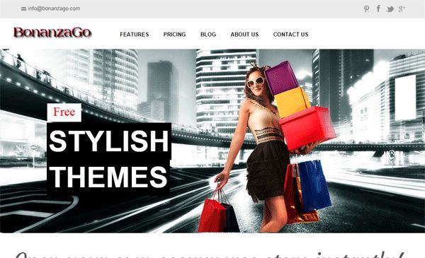 New Website Added to Our Directory:  Website Name: BonanzaGo Category: Online Business Website Description: BonanzaGo is an eCommerce store builder. Just in one click you will have your own stunning online shop. You can try it for free. Website Address: http://www.bonanzago.com/