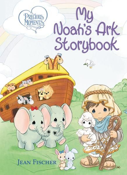 Sweet Precious Moments® art is placed alongside rhyming text that will teach your children the Noah story and assure them they can trust God's promises.
