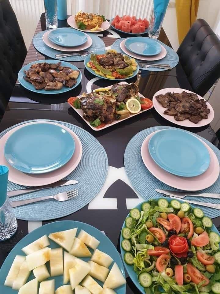 Table Algerienne طاولة أكل جزائرية Food Recipes Yams