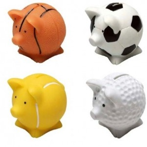 ALCANCIA COCHINITO SPORT PIGGY BANK
