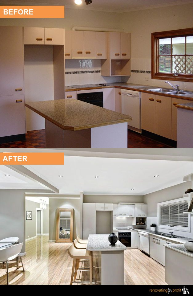 #Kitchen #Renovation See more exciting projects at: www.renovatingforprofit.com.au
