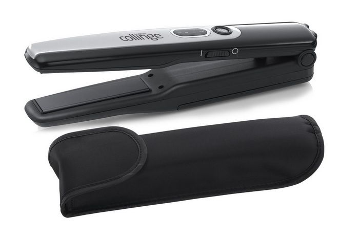 Andrew Collinge travel hair straightener