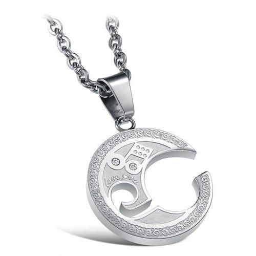 transgender double necklace male pendant gay