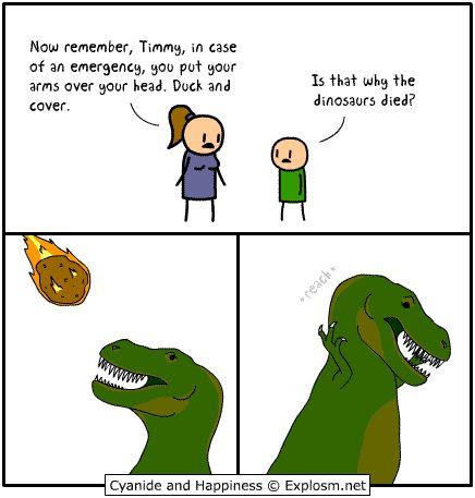 #Gif: The Extinction Of The Dinosaurs Explained