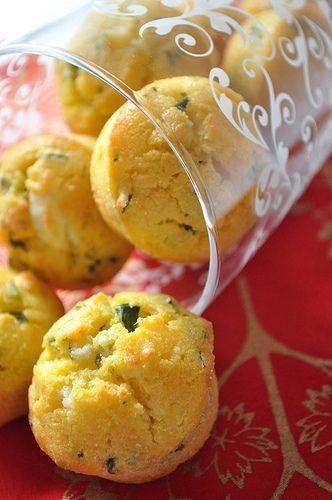 ıspanaklı muffin-