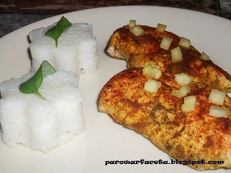przepis na super danie z kurczaka i ryżu jaśminowego na obiad