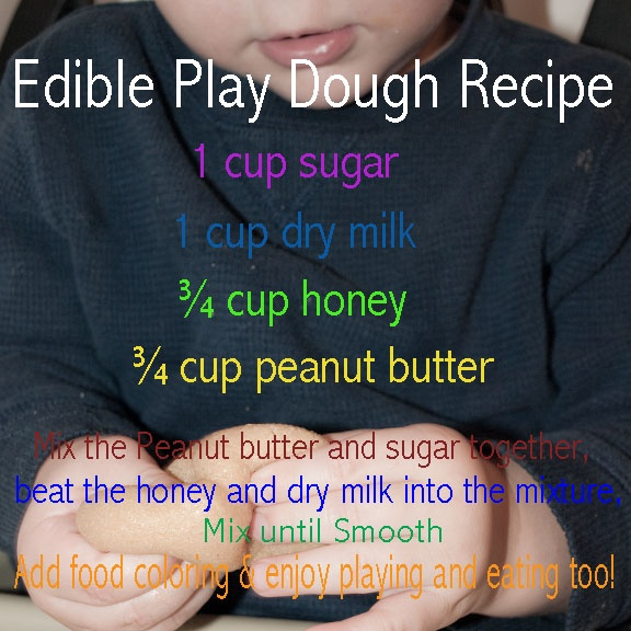 Homemade Edible Play Dough! I have been looking for this recipe forever!  We made this in kindergarten and it was so much fun!