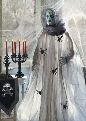 Another addition in 2013 from Grandin Road   Spider Woman   she is in the  Living Room   with all of the spiders   the dead   and the undead 21 best My grandin road menagerie images on Pinterest   Halloween  . Martha Stewart Halloween Costumes Grandin Road. Home Design Ideas