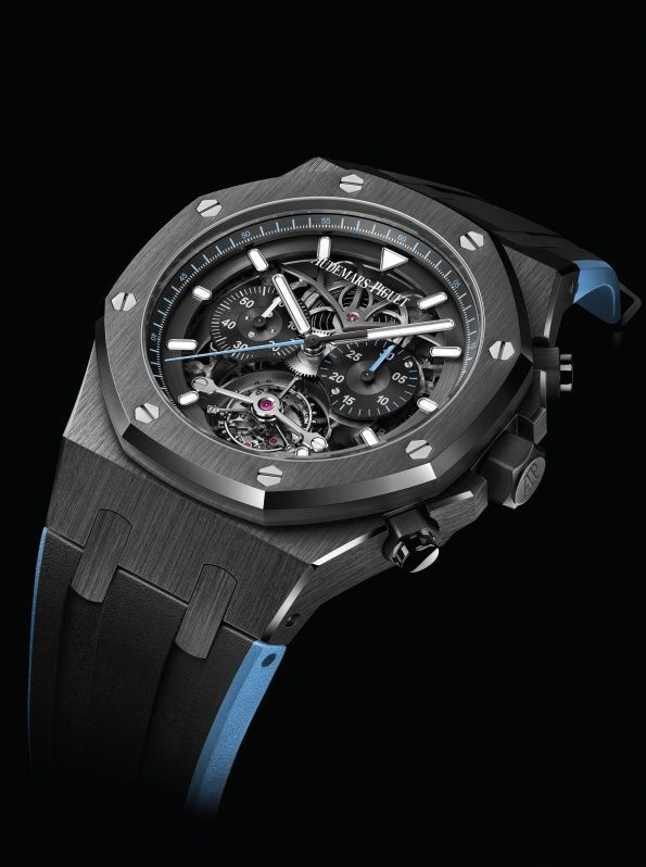 d7e99c6426e TimeZone   Industry News » SIHH 2018 - Audemars Piguet Royal Oak Tourbillon  Chronograph Openworked