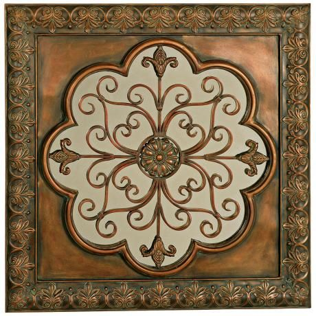 Square Metal Wall Art 17 best wall decor images on pinterest | metal walls, metal wall