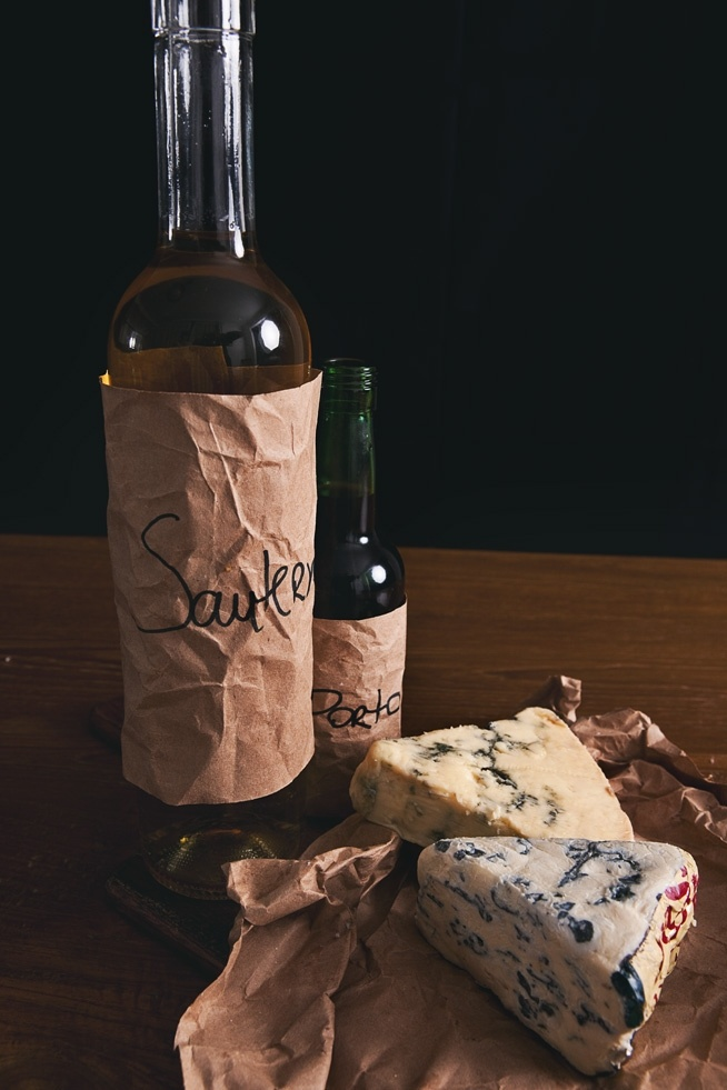 Sauternes and Port + Roquefort and Stilton | AH, CHEESE ...
