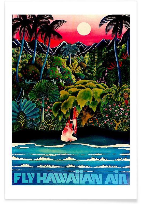 hawaii2 - Robert Livingston - Affiche premium