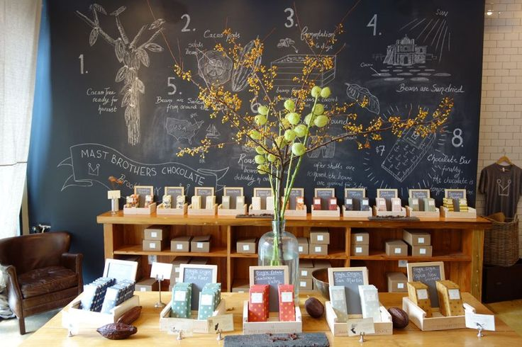 Mast Brothers Brooklyn The 10 Best-Designed Chocolate Shops Around the World : Architectural Digest