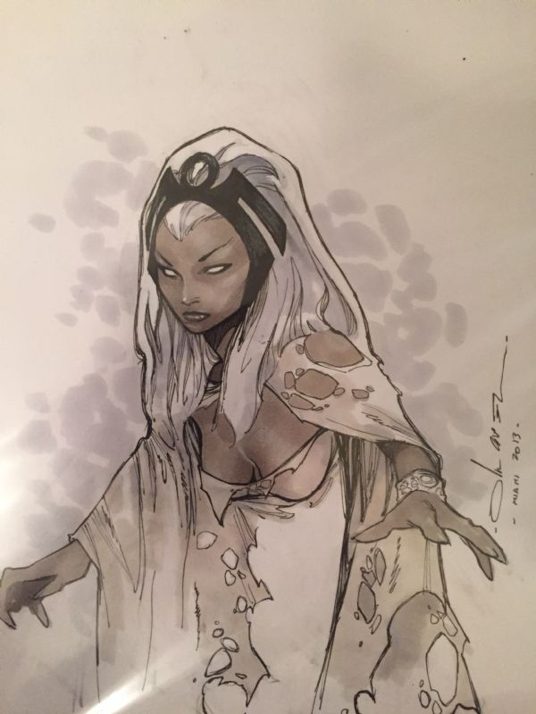 Coipel Savage Storm, in Daniel G's Art Collection Comic Art Gallery Room - 1168274