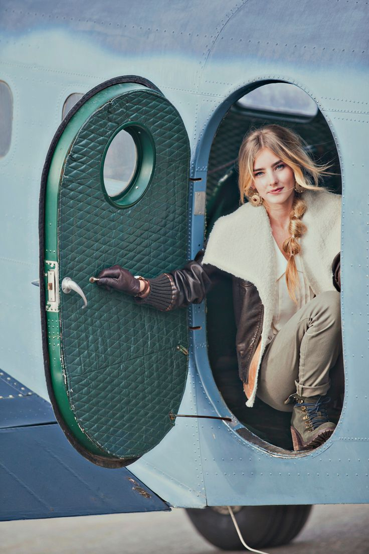 Fashion Shoot Loosely Inspired By Amelia Earhart Utah
