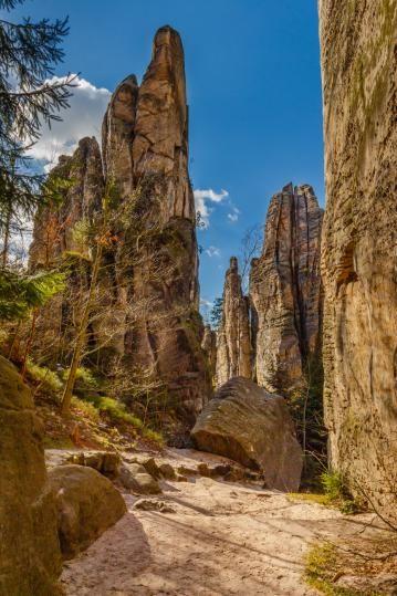 ČESKÝ RÁJ Prachovské skály - Czech Republic, Bohemian Paradise, Prachovske Rocks