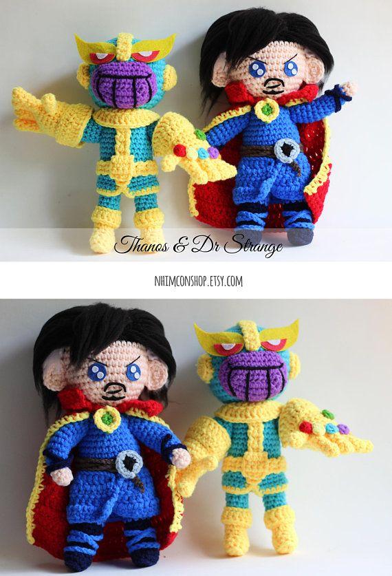 Amigurumi Thanos by Laupika on DeviantArt | 837x570