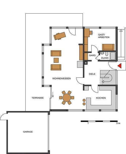 Hier finden Sie Einfamilienhaus-Grundrisse über 200 m² Wohnfläche.