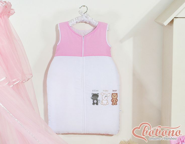 Pink sleeping bag / Bobono