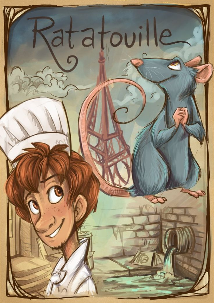 LOVE this Ratatouille illustration! by *sharpie91