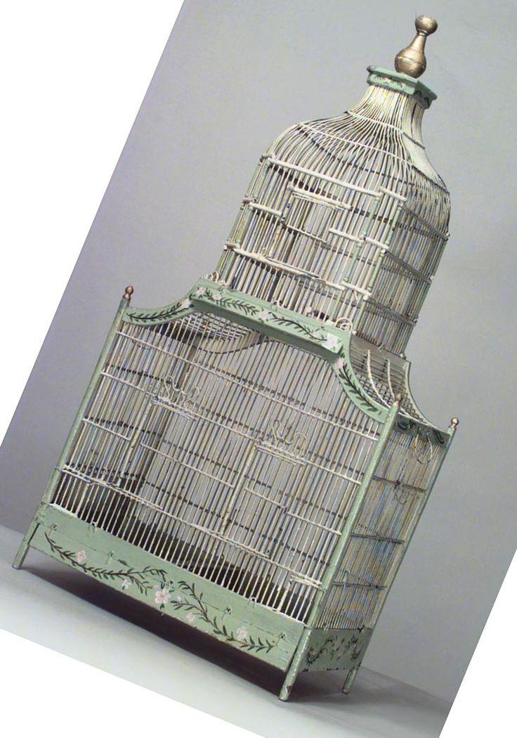 vintage birdcage | Antique bird cage: