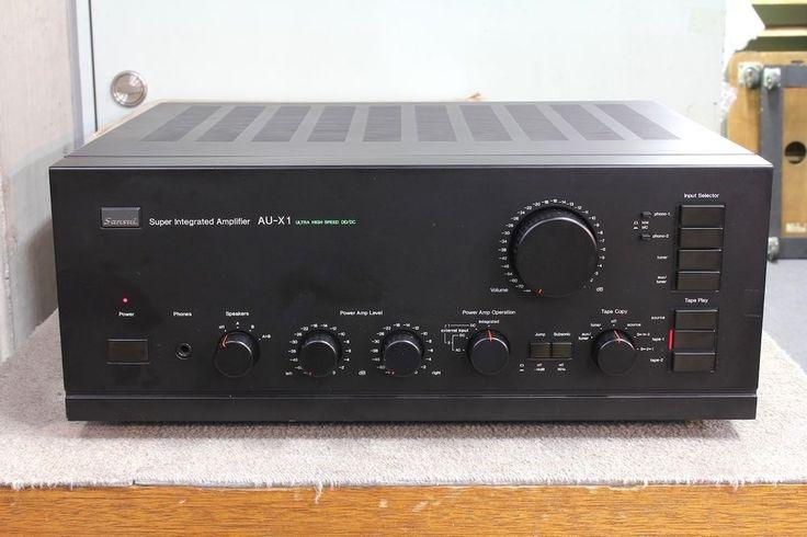 SANSUI AU-X1 Used Pre Amplifier Pro Serviced #SANSUI