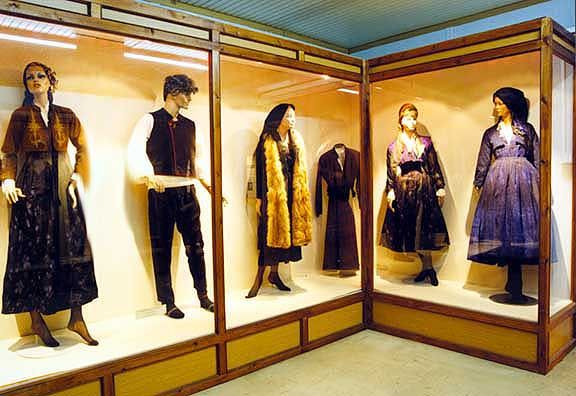 Traditional Costumes, image from the Folklore Museum, Yannitsa, Central Macedonia, Greece - Traditional Hellenic Costumes http://www.ebay.co.uk/itm/HUGE-BOOK-Greek-Folk-Costume-Macedonian-ethnic-dress-embroidery-headdress-Balkan-/151014997674?pt=LH_DefaultDomain_0&hash=item232931feaa #Macedonia #Macedonian #tradition #costumes