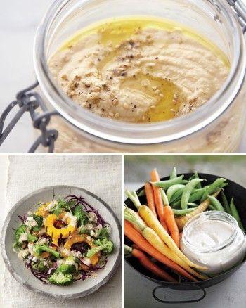 Roasted-Garlic Hummus picnic recipe