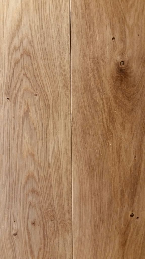 Natural Oiled Rustic Engineered Oak. Lovely honey toned oak floor boards. #oakflooring #engineeredoak