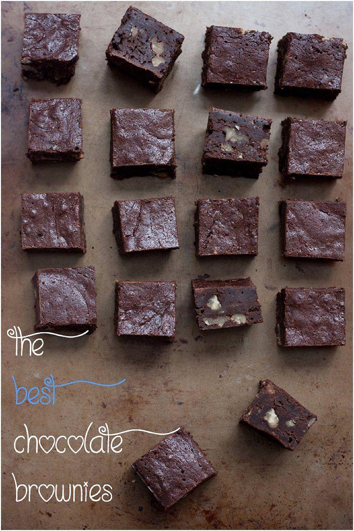 The Best Chocolate Brownies // 80twenty #glutenfree