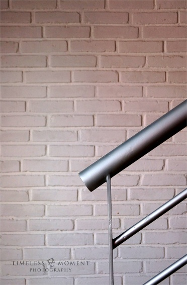Stairs railing by Timeless Moment Photography