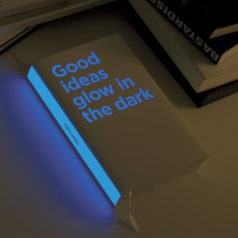 glow in the dark annual report for investment company Adris by Croatian designers Bruketa & Žinić
