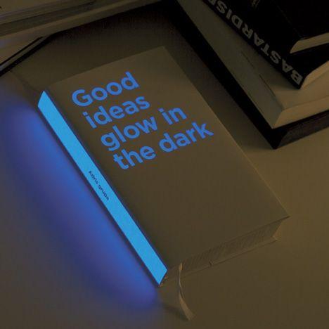 glow in the dark annual report for investment company Adris by Croatian designers Bruketa & Žinić