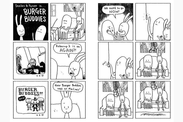 Comic Strips/Web Comics #2 - Burger Buddies  Burger Buddies © Aaron Mew